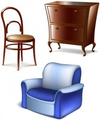 Furniture 01 vector