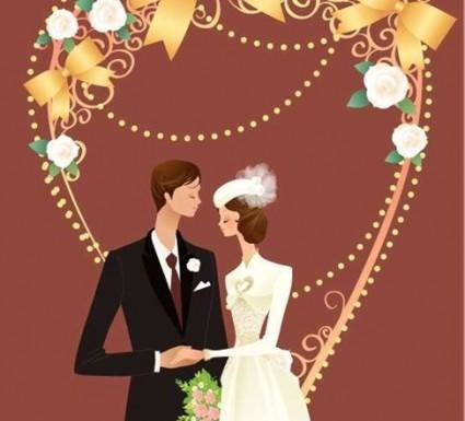 free vector Wedding Vector Graphic 33