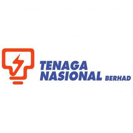 free vector Tenaga nasional berhad