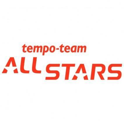 free vector Tempo team all stars