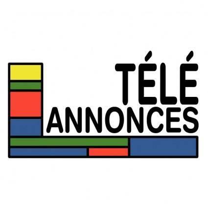 free vector Tele annonces