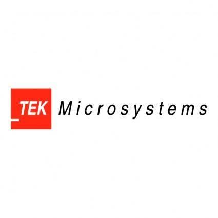free vector Tek microsystems