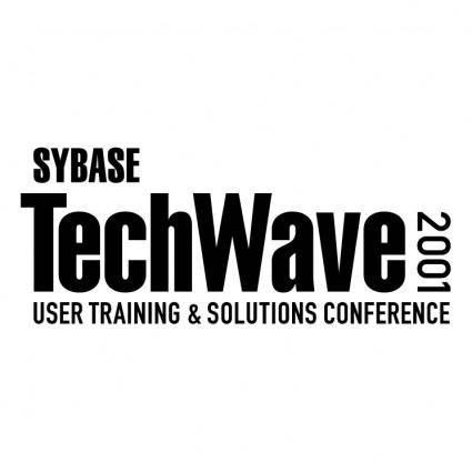 free vector Techwave 2001