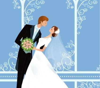 free vector Wedding Vector Graphic 17