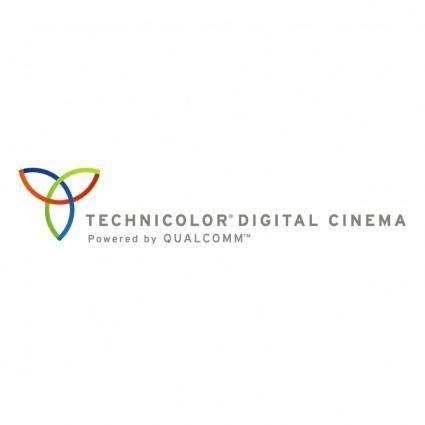 free vector Technicolor digital cinema
