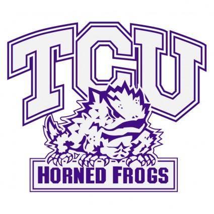 free vector Tcu hornedfrogs