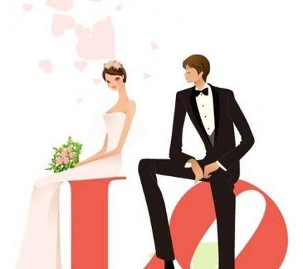 free vector Wedding Vector Graphic 24