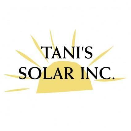 Tani%E2%80%99s solar
