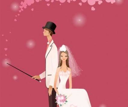 free vector Wedding Vector Graphic 10