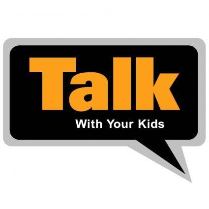 free vector Talk with your kids