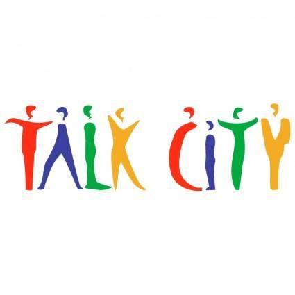 free vector Talk city