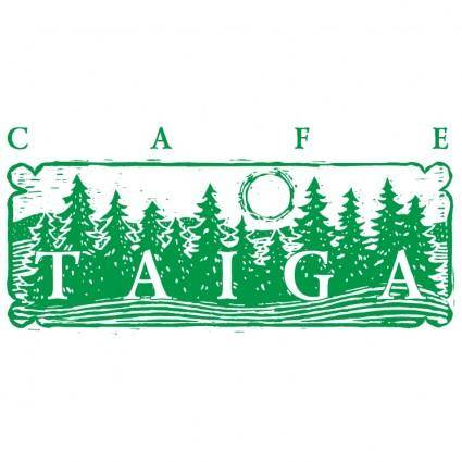 free vector Taiga cafe