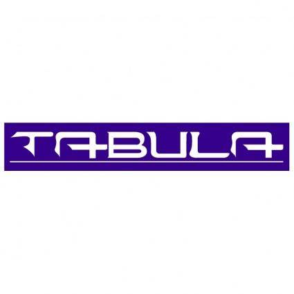 free vector Tabula