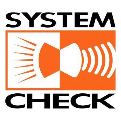 System check
