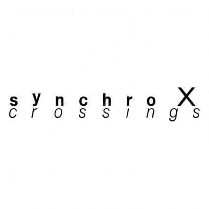 Synchro x crossings