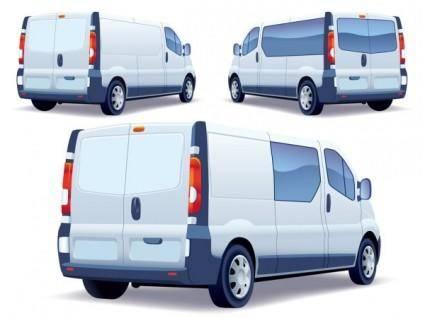 free vector Auto body advertising 02 vector