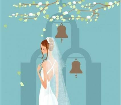 free vector Wedding Vector Graphic 8