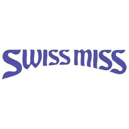 free vector Swiss miss