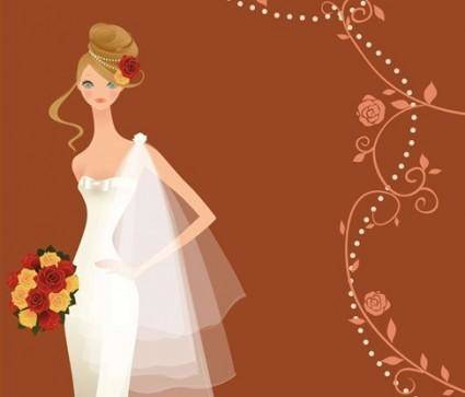 free vector Wedding Vector Graphic 3