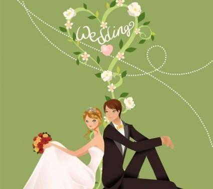 free vector Wedding Vector Graphic 4