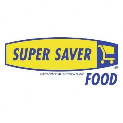 free vector Super saver food