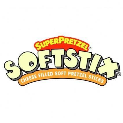 free vector Super pretzel softstix