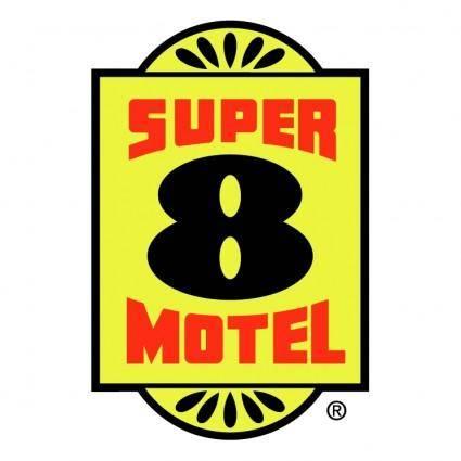 free vector Super 8 motel 0
