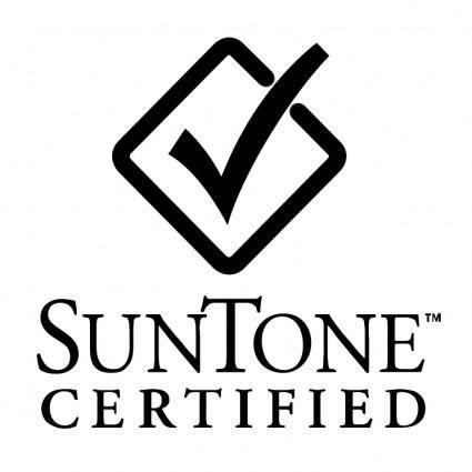 Suntone certified