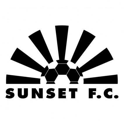 free vector Sunset fc