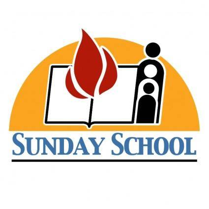 free vector Sunday school