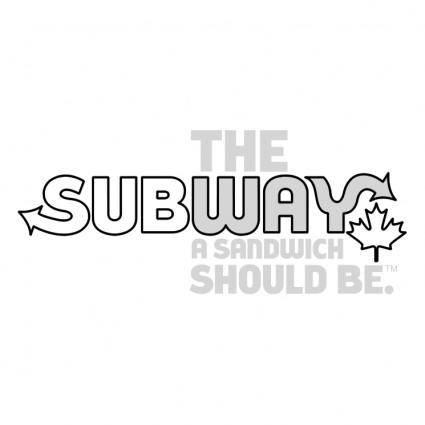 free vector Subway 4