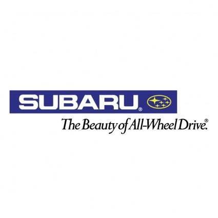 free vector Subaru