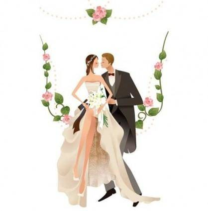 free vector Wedding Vector Graphic 2