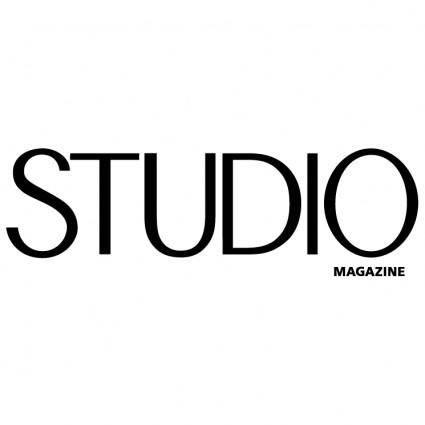 free vector Studio magazine