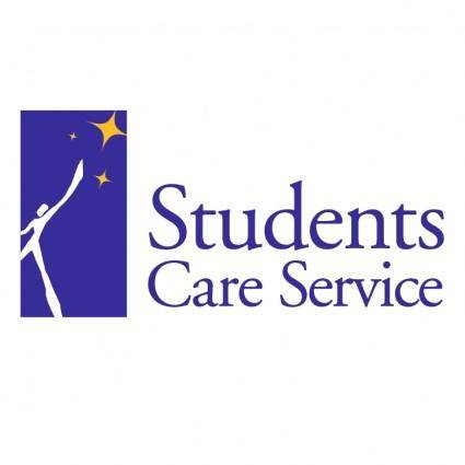 free vector Students care service