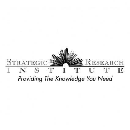 free vector Strategic research institute