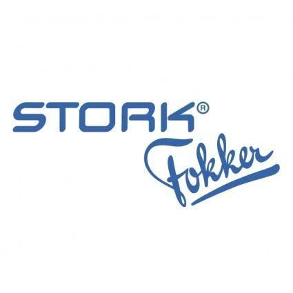 free vector Stork fokker