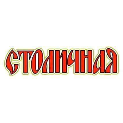 Stolichnaya vodka 1