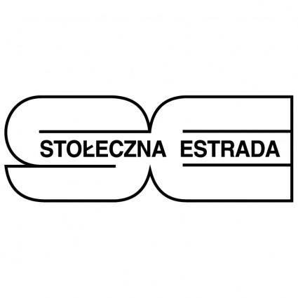 free vector Stoleczna estrada