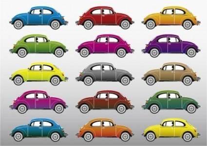 free vector Volkswagen Beetle Vectors