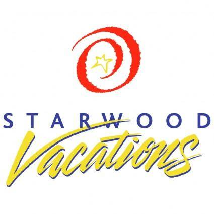 free vector Starwood vacations