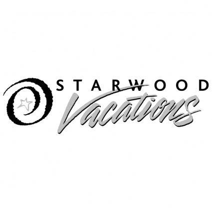 free vector Starwood vacations 0