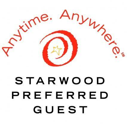 free vector Starwood preferred guest