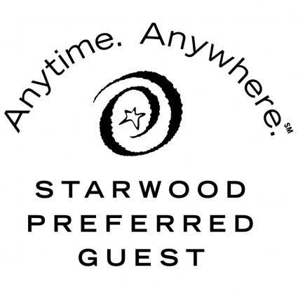 free vector Starwood preferred guest 0