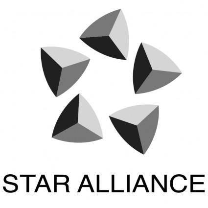 free vector Star alliance 0