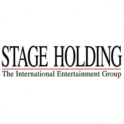 Stage holding