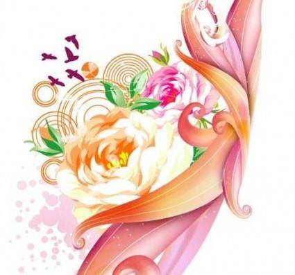 free vector Free Pink Rose Vector Graphic