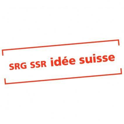 free vector Srg ssr idee suisse