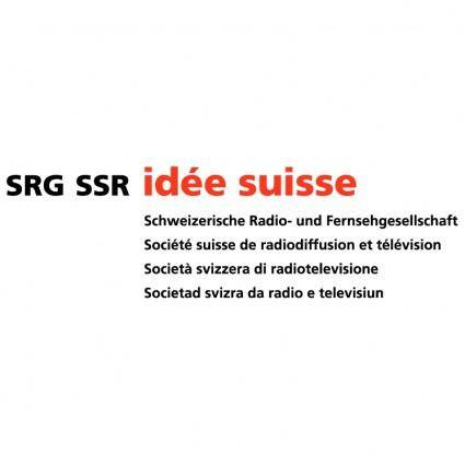 free vector Srg ssr idee suisse 1