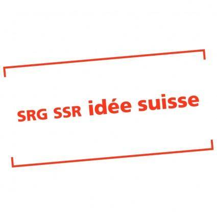 free vector Srg ssr idee suisse 0